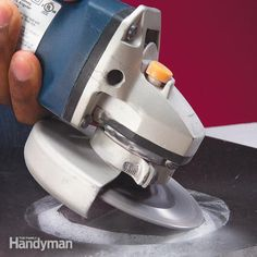 learn to cut perfect circles, holes and other cutouts in stone and ceramic tile. it's quick and easy using an angle grinder and diamond blade.