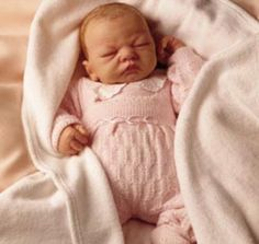 "20"" Ashton Drake Galleries Welcome Home Baby Emily Newborn Truly Real Baby Doll 