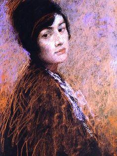 judy drew - Australian contemporary artist - a specialist of pastel portraits