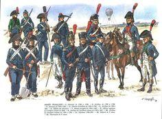 Униформы артиллеристов Наполеона в Египетской кампании