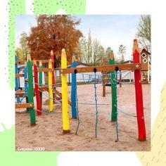 #climbing #playground #kidsarea #playground #kids #outdoor #larslaj   Plac zabaw | Wspinaczka | Drewniane place zabaw dla dzieci Outdoor Play, Outdoor Decor, Natural Playground, Nature, Kids, Beautiful, Young Children, Outdoor Games, Naturaleza