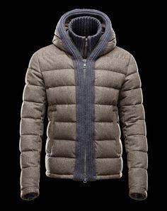 638fe8b413a5 Doudoune Moncler Canut Homme Vert Doudoune Moncler Femme, Hiver, Ski Homme,  Mode Homme