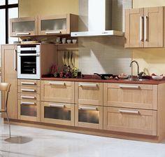 Amoblamientos para Cocinas Pequeñas - Para Más Información Ingresa en: http://fotosdecasasbonitas.com/amoblamientos-para-cocinas-pequenas/