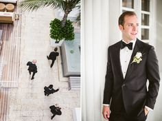 groom and groomsmen - James Royal Palm Miami Wedding : Jenney and Chuck - Jasmine Star Blog