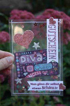 Zauberhaft-handgemacht, Gutschein-Verpackung, Klarsichtfolie, Geschenk deiner Wahl, SU, Nähen, Schüttelkarte