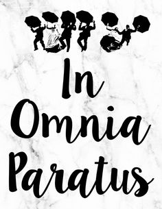 In Omnia Paratus   Life and Death Brigade   Gilmore Girls Quote Free Printable   Pretty as a Peach Blog