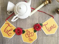 Beauty and the beast wedding, beauty and the beast wedding decoration, tale as old as time, Disney wedding, Princess belle, enchanted wedding, beauty and the beast, tale as old as time banner