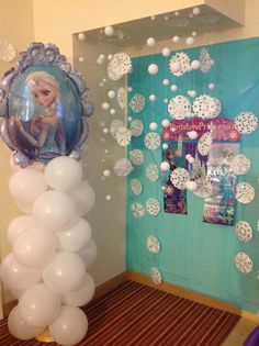 Frozen party picture booth I did for my granddaughter 4th birthday