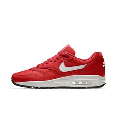 Nike Air Max 1 Essential iD Men's Shoe Size 6 (Red)