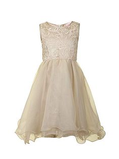 Little Misdress Girl`S 2-In-1 Lace Dress http://www.weddingheart.co.uk/house-of-fraser-young-bridesmaids-flower-girl-dresses.html