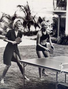 ping pong...