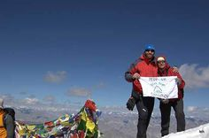 Stok Kangri Trek >>>  Stok Kangri trek is the best trek in Ladakh which takes you above 6000mts or just below 20000 ft. #StokKangri is the highest peak in Stok range clearly visible from Leh and surrounding areas.  #camping #treks #trekking #StokKangriTrek