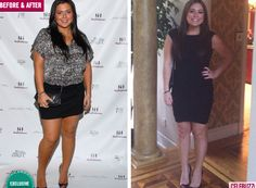 Before and After: 'Real Housewives of New Jersey' star, Lauren Manzo, drops 30 pounds for a slim new bod!