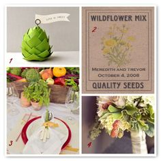 Woodsy Weddings - http://www.woodsyweddings.com/2012/01/03/inspiration-farmers-market-wedding-ideas/