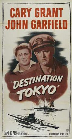 1943 movie posters Belgian | Destination Tokyo - 20 x 40 Movie Poster - Style A