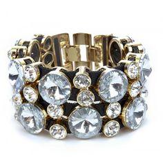 Crystal Wrap Bracelet  - Crystal