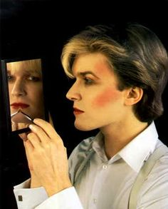 David Sylvian back in the day! I had a MASSIVE poster of this on my bedroom wall.