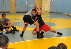 University of Maryland Wrestling Camp grapples at Cape Henlopen High School in Delaware