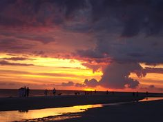 Sunset on Anna Maria Island - Summer 2012 - Wish I were back there now!