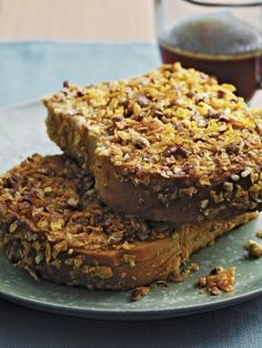 Pumpkin Pecan Pie French Toast #recipe from Sunny's Kitchen by Sunny Anderson
