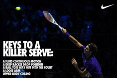 Keys to a killer serve.