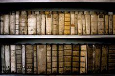 Antique books...