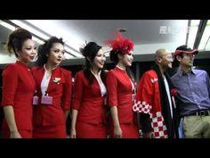 格安航空会社「エアアジアX」関空就航 AirAsia X between Osaka and Kuala Lumpur