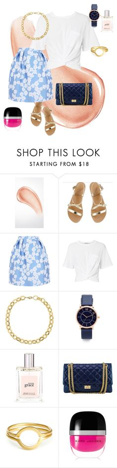 """""""Untitled #66"""" by tammy-stacey ❤ liked on Polyvore featuring Burberry, Ancient Greek Sandals, Giorgio Grati, T By Alexander Wang, Laundry by Shelli Segal, Marc Jacobs, philosophy and Chanel"""