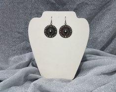 Earrings - Black Lace 2.0