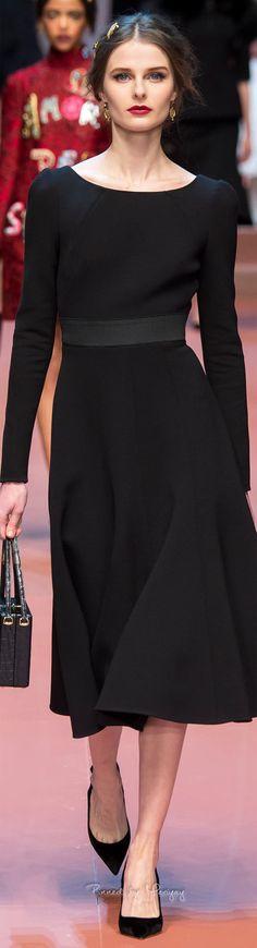 Dolce & Gabbana.Fall 2015