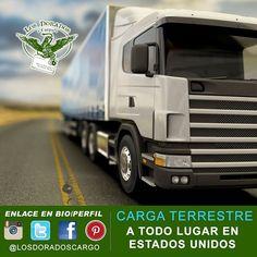 Los Dorados Cargo transporta por carretera los envíos dentro de los Estados Unidos y tiene un equipo de profesionales entrenados en el manejo de carga.  Su mercancía es nuestro mayor tesosro.  Llámenos al 718-606-0484 y solicite información de nuestros servicios de envíos de carga una recogida de su carga o hágalo mediante el registro de datos directamente en nuestro portal de internet ubicado en www.losdoradoscargo.net en la sección contáctenos. #losdoradoscargo #cargo #cargaacolombia #cargaaerea #cargamaritima #cargaamexico #cargaterrestre #enviosdedinero #buzoninternacional #recargas Connecticut, Trucks, Instagram, Portal, Internet, Home, High Road, El Dorado, Destiny
