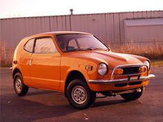 1972 HONDA Z600.