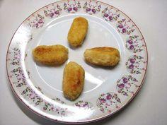 Receta: croquetas de pollo / Recipe: chicken croquettes