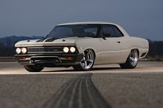 1966 Chevrolet Chevelle Ringbrothers Front - Provided by Hotrod