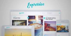 Download and review of Expressivo - Lifestyle Masonry WP Blog Theme, one of the best Themeforest Magazine & Blogs themes