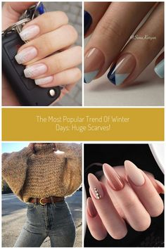 The Most Popular Trend Of Winter Days Huge Scarves! Winter Day, Most Popular, Plaid Pattern, Summer Nails, Cute Nails, Vip, Scarves, Classy, Leggings