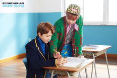 """nctinfo: """"""""NCT DREAM 'The First' Teaser image — Jisung, Chenle """" """""""