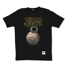 tee-shirt BB8 by Otaku Gamewear #BB8 #headshot #starwars