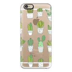 iPhone 6 Plus/6/5/5s/5c Case - Cactus - Succulent ($40) ❤ liked on Polyvore featuring accessories, tech accessories, iphone case, iphone cover case and apple iphone cases