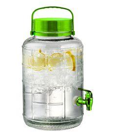 Look at this #zulilyfind! Green Two-Gallon Tailgate Beverage Dispenser #zulilyfinds