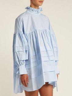 Women S Fashion Mail Order Catalogs Hijab Fashion, Fashion Dresses, Fashion Fashion, Fashion Vestidos, Fashion Details, Fashion Design, New Shape, Cotton Blouses, Blouse Designs