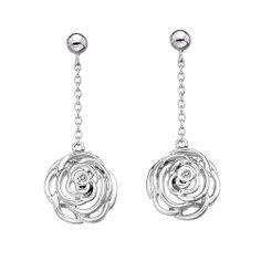 Hot Diamonds Eternal Rose Drop Earrings £59.95