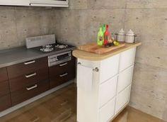 カラーボックスキッチンカウンターの作り方/インテリアDIY