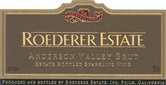 Roederer Estate Brut Anderson Valley. Great inexpensive sparkling wine.
