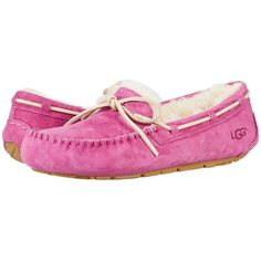 c411288dd3aed2 UGG Dakota (Magenta Rose) Women s Slippers ( 100) ❤ liked on Polyvore  featuring shoes and slippers