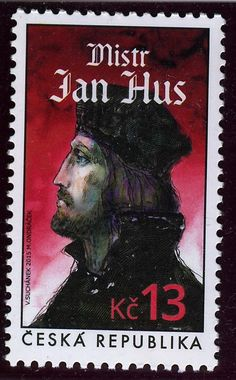 Jan Hus stamp