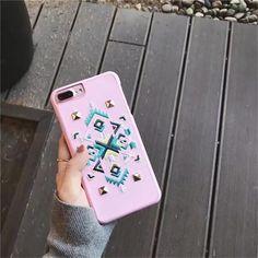 Embroidery Boho iPhone Case