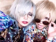 Say hello!  With coyomi & Riku (Lydiar) #lydiar #coyomi #riku #coyomilydiar #rikulydiar #jrock #visualkei #vkei #say #hello