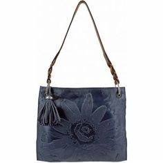 Piper Slim Shoulderbag in INDIGO by Brighton....love this purse and the color.  Great with jeans!!