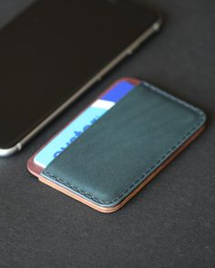 CLYH Wallet Iphone 6s+ Wallet Minimalist Wood Wallet Gifts for boyfriend Unique leather Wallet Ingeniousbros wallet